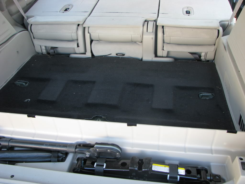 Replacing the third row seat with a storage box archive theultimatejeep com